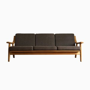 Mid-Century Oak 530 Sofa by Hans J. Wegner for Getama