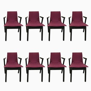 Villabianca Chairs by Vico Magistretti for Cassina, 1980s, Set of 8