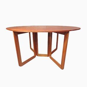 Dänischer ausziehbarer Teak Tisch, 1960er