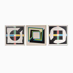 Serigrafías de Shalom Lixenberg, años 80. Juego de 3