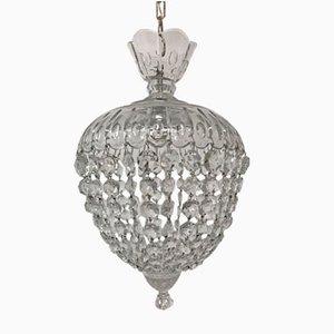 Lampe à Suspension Vintage en Verre Murano, Italie