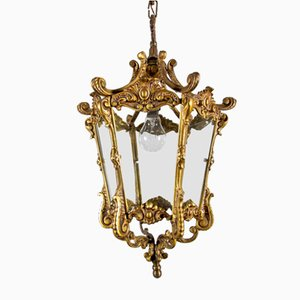 Plafonnier Antique en Bronze