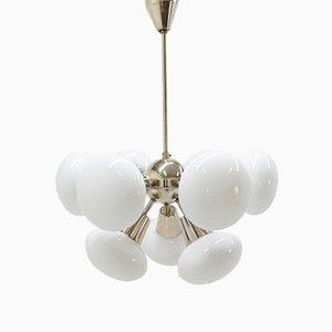 Lámpara de araña Sputnik Mid-Century de Kamenický Šenov
