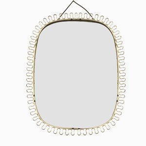 Mid-Century Scandinavian Mirror by Josef Frank for Svensk Tenn