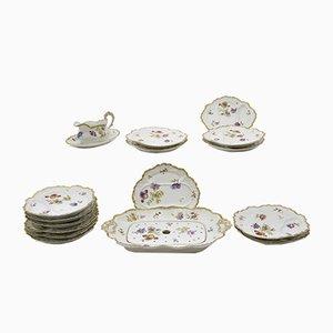 Set de Vaisselle Antique de Limoges