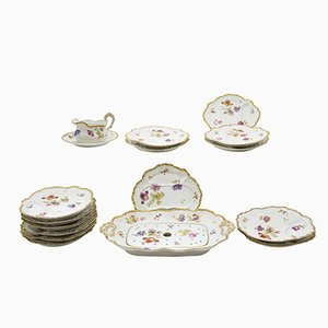 Antique Tableware Set from Limoges