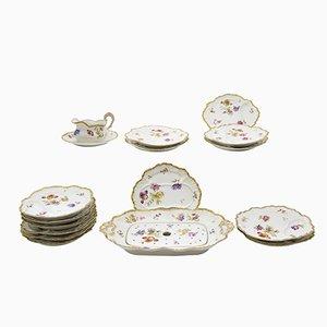Antique Tableware Set from Limoges