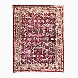 Antiker indischer Agra Teppich mit Palmetten