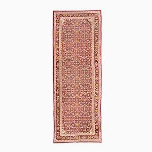 Antiker indischer Agra Teppich mit Palmetten & Blumen