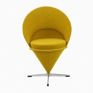 Mid-Century Cone Chair von Verner Panton