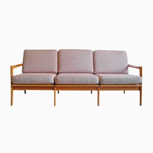 Pink 3-Seater Sofa, 1960s