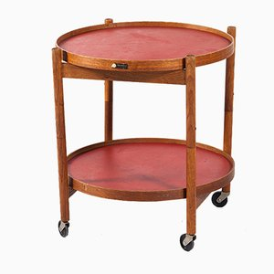 Mid-Century Danish Serving Trolley by Hans Bolling for Torben Orskov, 1963