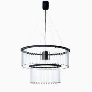 Lámpara de araña doble Maria SC en negro de Pani Jurek para Gang Design, 2017