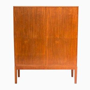 Mueble vintage de caoba y lino de CB Hansen