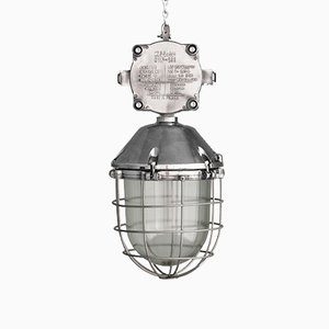 Lampe Industriel Mid-Century, Pologne