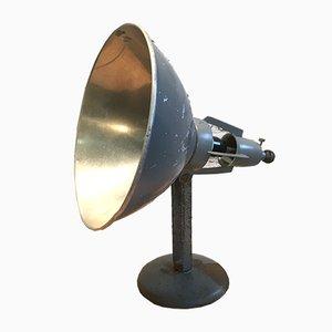 Lámpara de mesa industrial de BAG Turgi, años 30