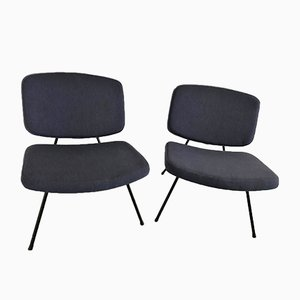 CM190 Slipper Chairs by Pierre Paulin for Thonet, Set of 2