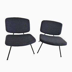 CM190 Slipper Chairs von Pierre Paulin für Thonet, 2er Set
