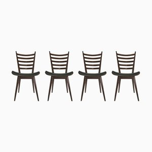 Modernist Dining Chairs by Cees Braakman for Pastoe, 1950s, Set of 4