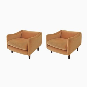 Teckel Armchairs by Michel Mortier for Steiner, 1960s, Set of 2