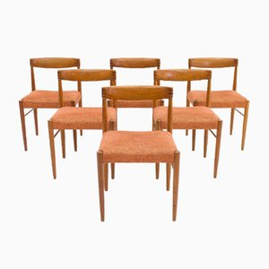 Vintage Danish Teak Dining Chairs by H. W. Klein for Bramin, Set of 6