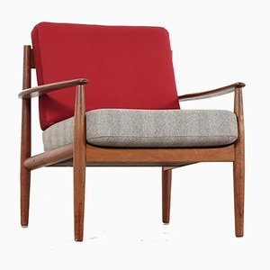 Mid-Century Teak Lounge Chair by Grete Jalk for Cado Royal