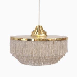 Lámpara colgante de flecos de Hans-Agne Jakobsson, años 60