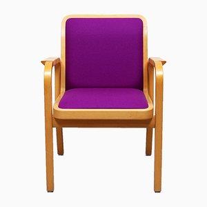 Modell 45 Armlehnstuhl von Alvar Aalto für Artek, 1947