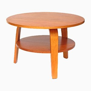 Table Basse Mid-Century en Chêne par Cees Braakman pour Pastoe