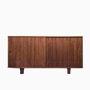 Schwedisches Teak Sideboard, 1950er