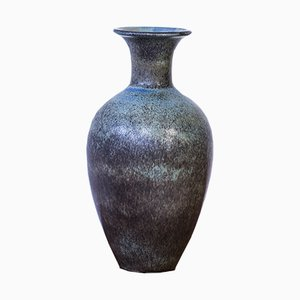 Stoneware Floor Vase by Gunnar Nylund for Röstand, 1950s