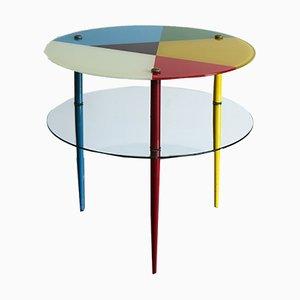 Mesa de centro Arlecchino de Edoardo Paoli para Vitrex, años 50