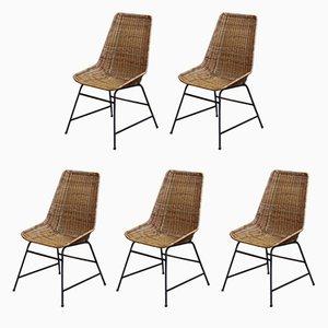 Chaises Vintage, 1960s, Set de 5