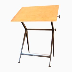 Vintage Plotting Table by Wim Rietveld & Friso Kramer for Ahrend de Cirkel