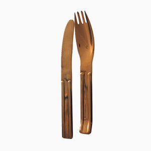 Model Culinar Cutlery Set by Carl Auböck for Collini, 1970s