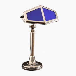 Lámpara de escritorio francesa grande de Pirouette, años 20