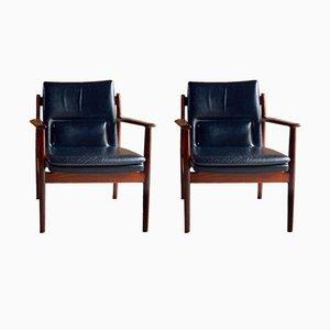 Fauteuils Modèle 431 par Arne Vodder pour Sibast Furniture, 1965, Set de 2