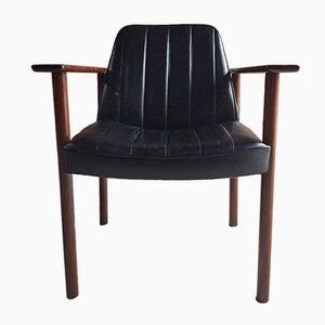 Mid-Century Rosewood Armchair by Sven Ivar Dysthe for Dokka Mobler, 1960s
