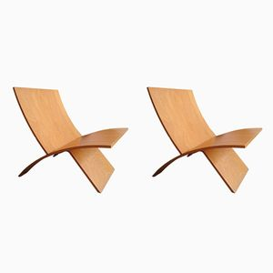 Lounge Chairs by Jens Nielsen for Westnofa, 1960s, Set of 2