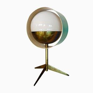 Lámpara de mesa Saturn italiana de Stilux Milano, años 50