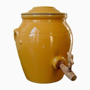 Pot à Vinaigre Rustic Vintage avec Robinet