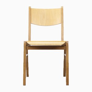 Mid-Century Plywood Stacking Chair, 1960s