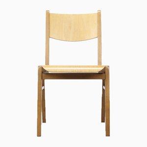 Stapelbarer Mid-Century Stuhl aus Schichtholz, 1960er