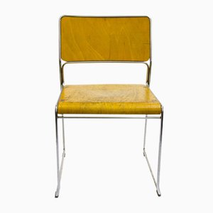 Verchromter Stuhl, 1960er
