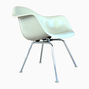 Vintage FiberGlas Dax Stuhl von Charles & Ray Eames für Herman Miller