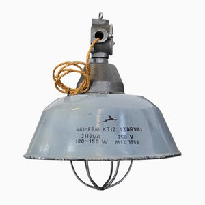 Hungarian Industrial Factory Light from Szarvas, 1940s