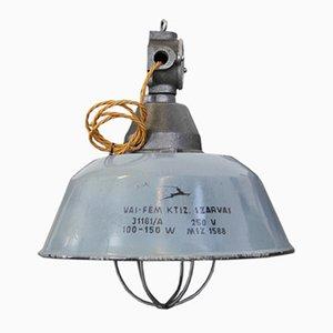 Ungarische industrielle Fabriklampe von Szarvas, 1940er