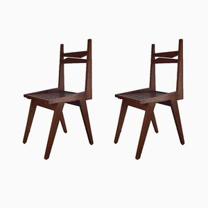 Stühle, 1950er, 2er Set