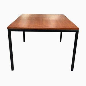 Viereckiger Teak Tisch mit Metallbeinen von Paolo Tiche für Arform, 1950er