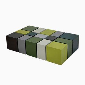 Kubistischer Mid-Century Tisch